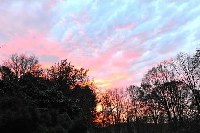 sky in november
