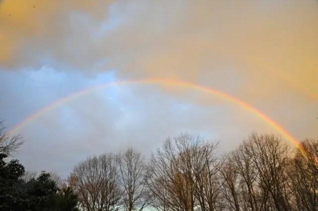dawn-rainbow