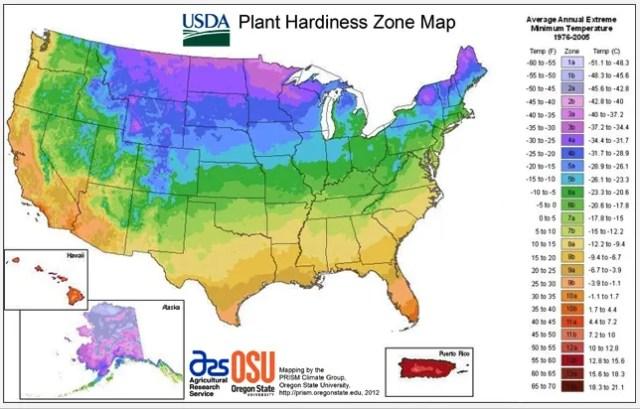 2012 usda hardiness map