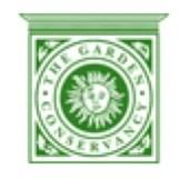 The Garden Conservancy logo