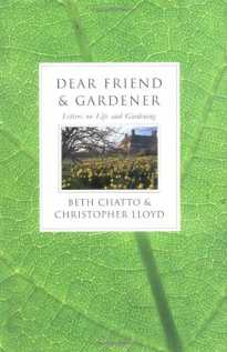 Dear Friend and Gardener book cover from Amazon