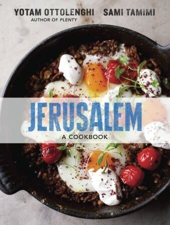 Jerusalem: A Cookbook, cover
