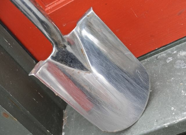 stainless steel border spade