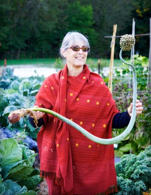 """Vegetable Literacy"" author Deborah Madison"