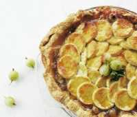 Gooseberry pie, from Beekman1802.com website