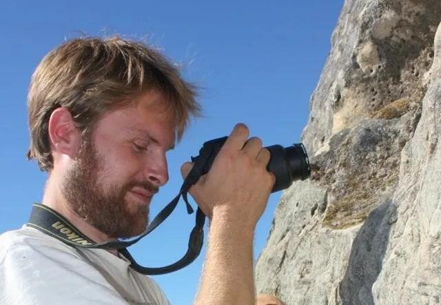 Naturalist and author Charley Eiseman