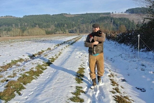 Andrew Still of Adaptive Seeds in field