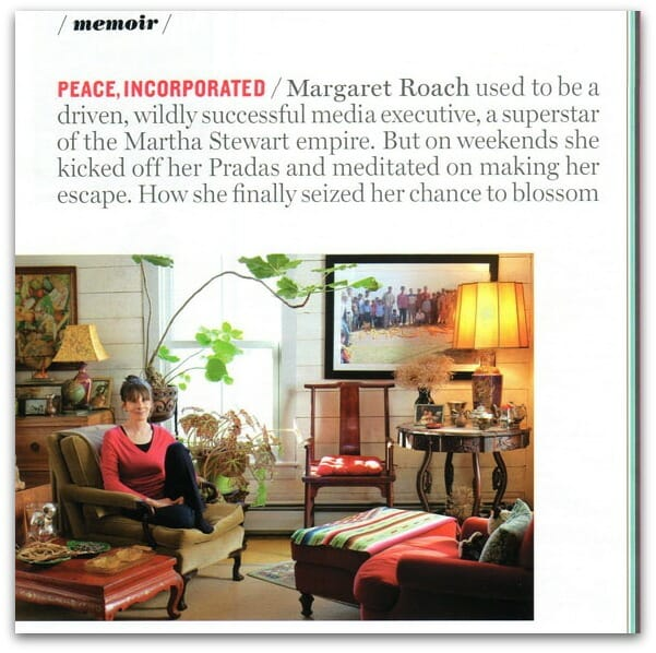 More magazine piece on Margaret Roach