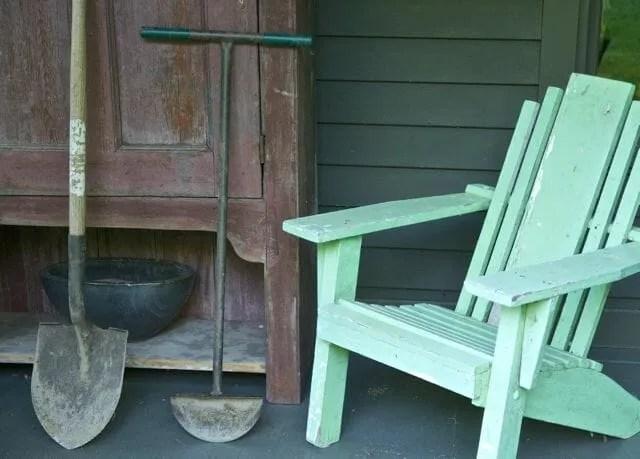 edger on back porch