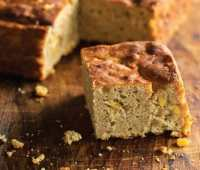 peter reinhart's gluten-free sprouted corn bread with teff
