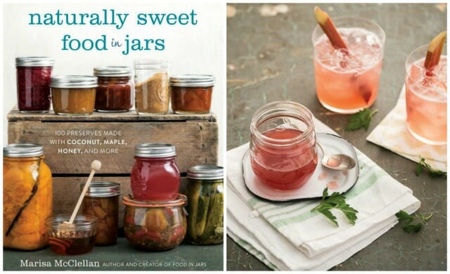 food in jars collage