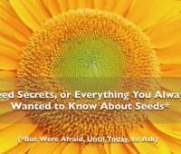 new webinar event: 'unlocking seed secrets'