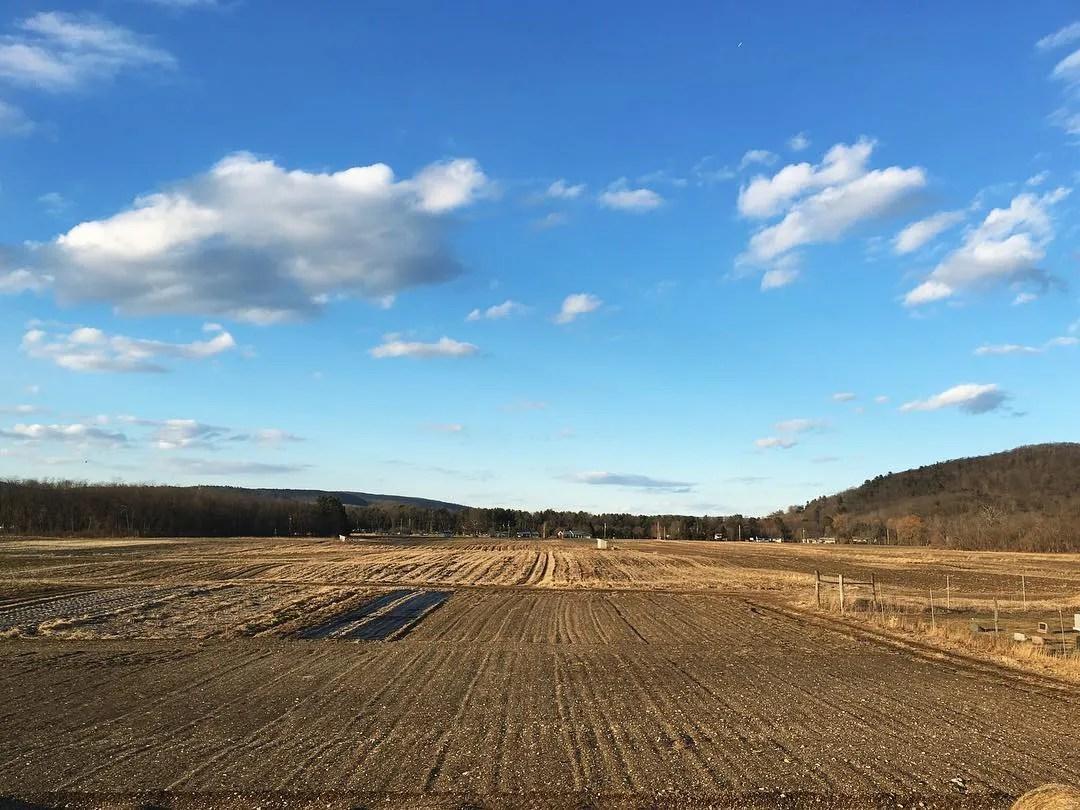Tiny Hearts Farm fields, Copake NY