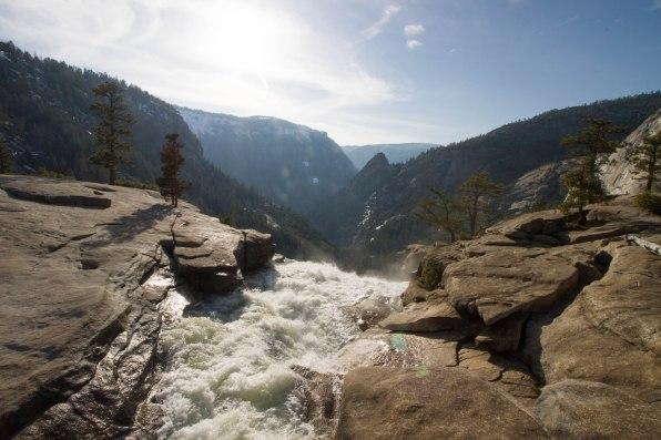 Nevada Falls at Yosemite National Park