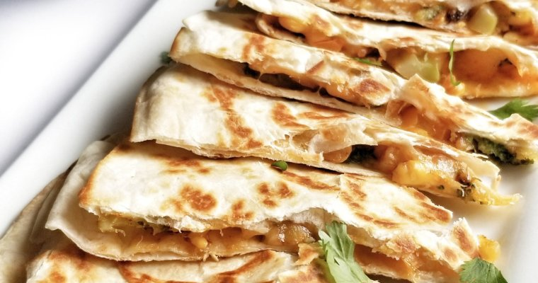 Low Calorie Veggie Quesadilla
