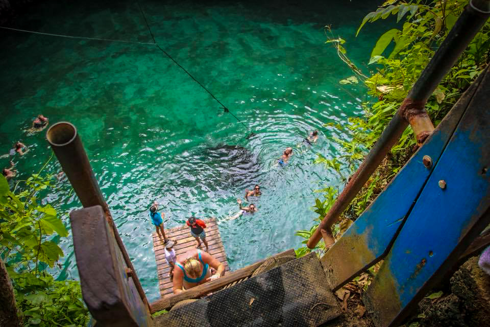 Beautiful photo of To Sua Trench, Samoa.