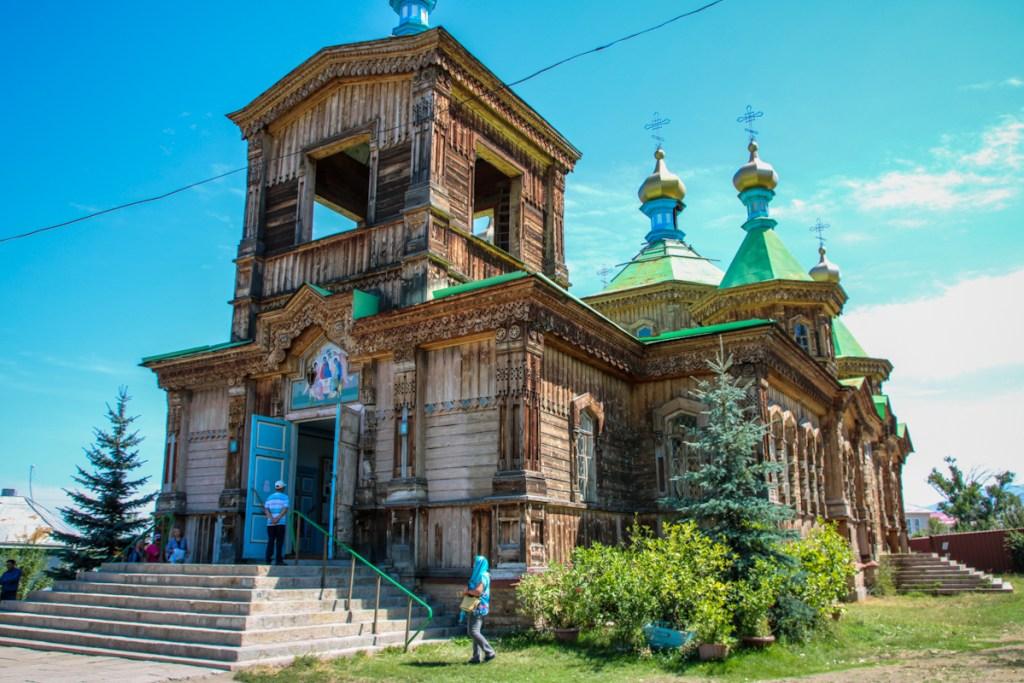 The Russian Orthodox Church in Karakol.