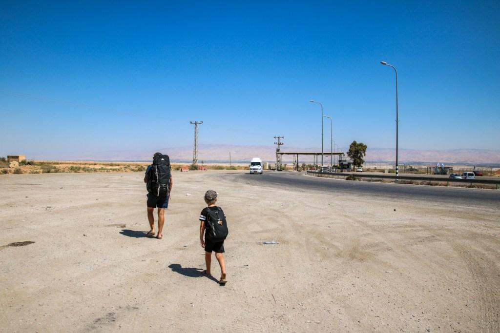 Crossing Allenby Bridge from Israel to Jordan, Jerusalem to Amman.