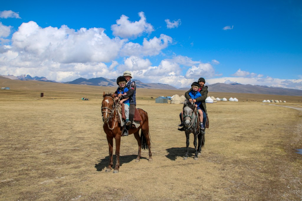 Horse riding at Song Kol Lake was easily one of the best things in Kyrgyzstan.