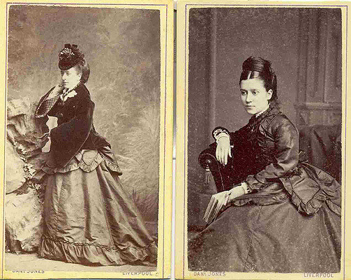 Victorian lady photograph