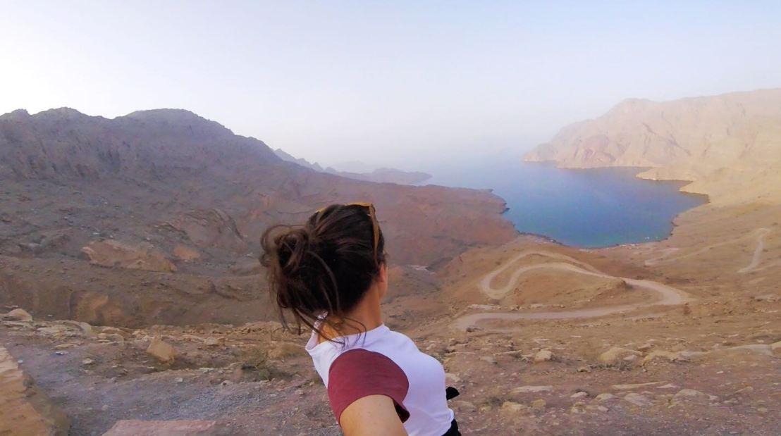 View of Khor Najd in Oman