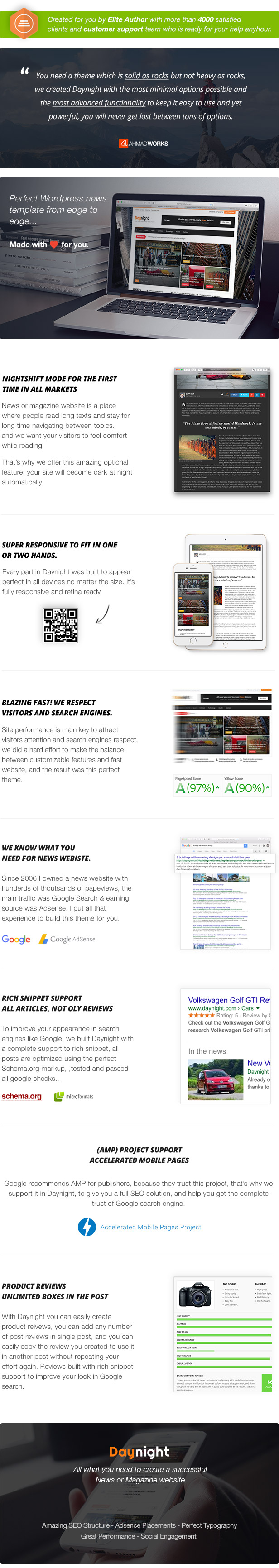 Day Night WordPress Theme Not Nulled Free Download