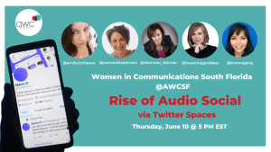 Rise of Audio Social via Twitter Spaces