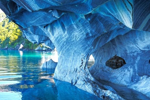 Мраморные пещеры Патагония Чили