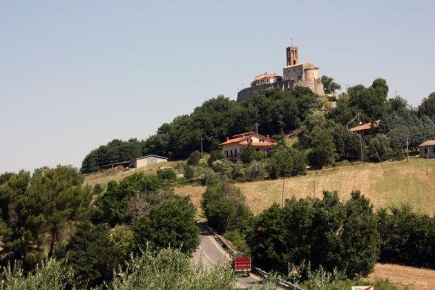 Агротуризм Италии Тоскана