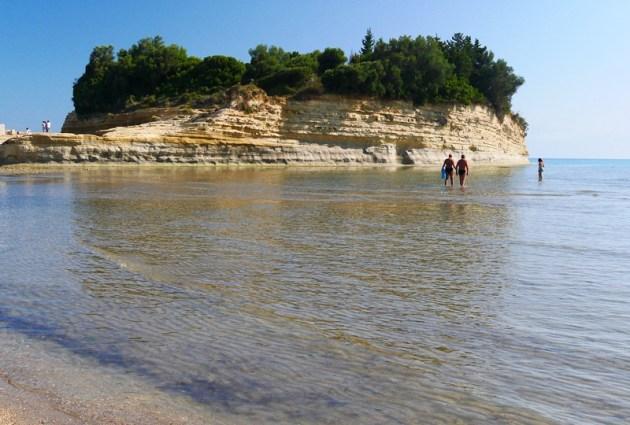 пляжи корфу отзывы