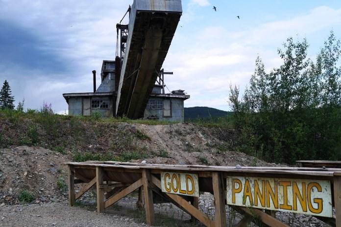 Золотая лихорадка на Аляске