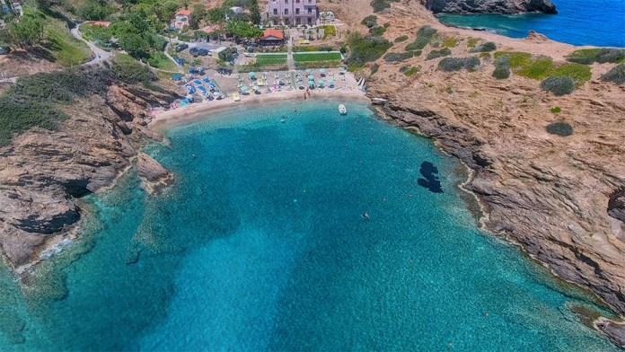 Пляж Бали на Крите отзыв