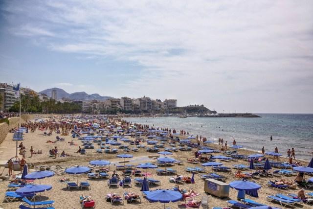 Пляжи Коста Бланка которые не понравились
