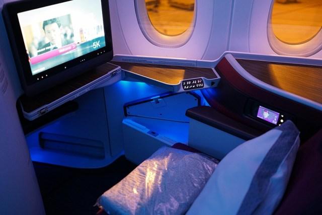 Новый A350 Qatar Airways отзыв