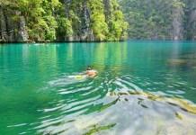 Kayangan Lake Корон Филиппины