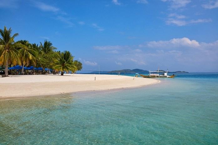 Лучшие пляжи на Филиппинах: Pass island
