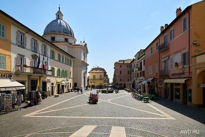 Кастель-Гандольфо рядом с Римом