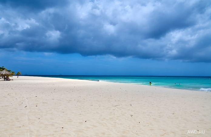 Eagle beach Аруба