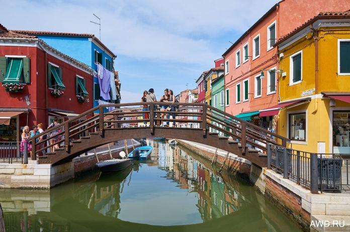 Бурано разноцветный город