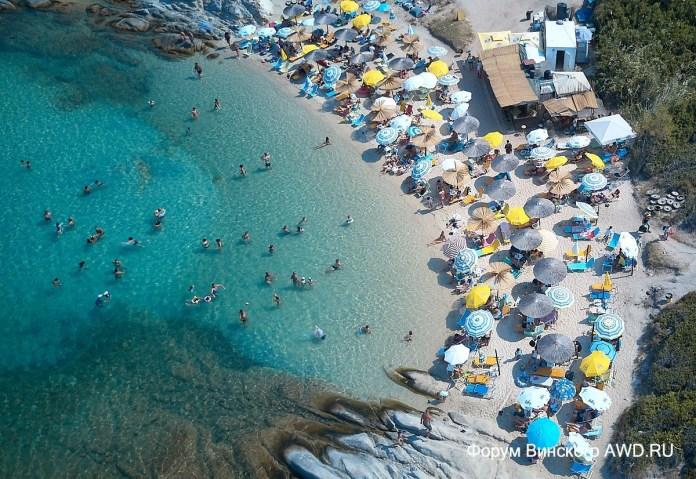Кавуротрипес, пляж Портокали Ситония