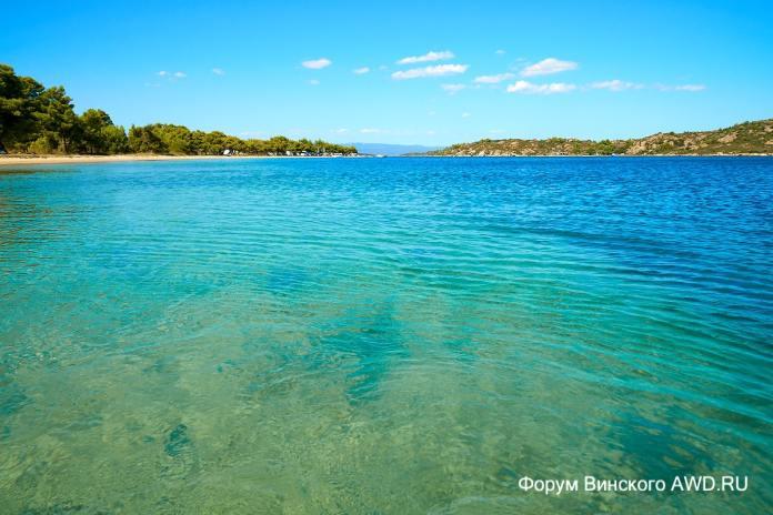 Пляж Ливари на Ситонии