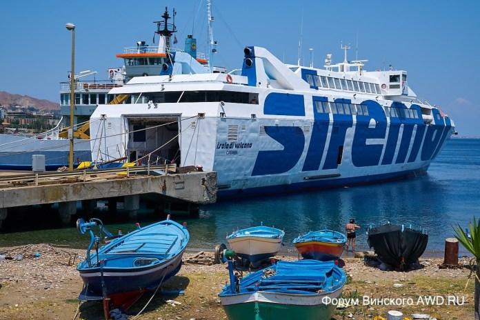 Как с Сицилии добраться до Калабрии