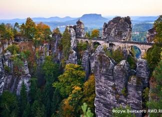 Бастай (Bastei) Саксонская Швейцария