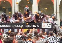 Битва апельсинов в Италии 2019