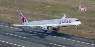 A350-1000 Qatar Airways отзывы
