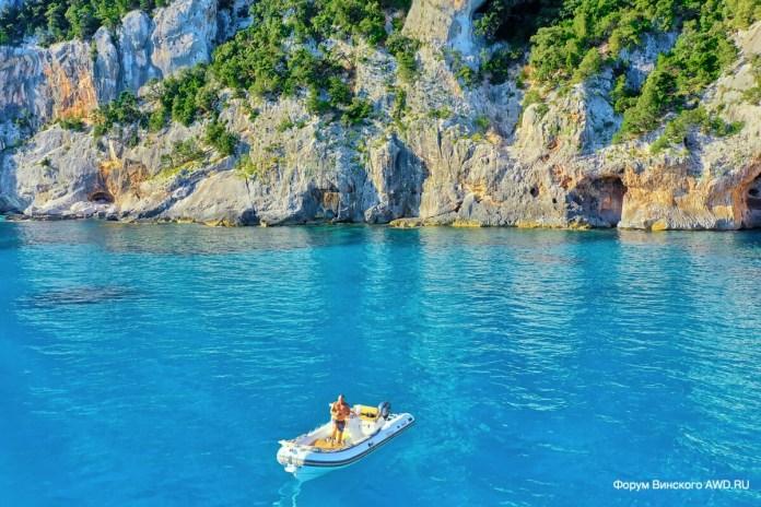 Пляж Cala Goloritze Орозеи Сардиния