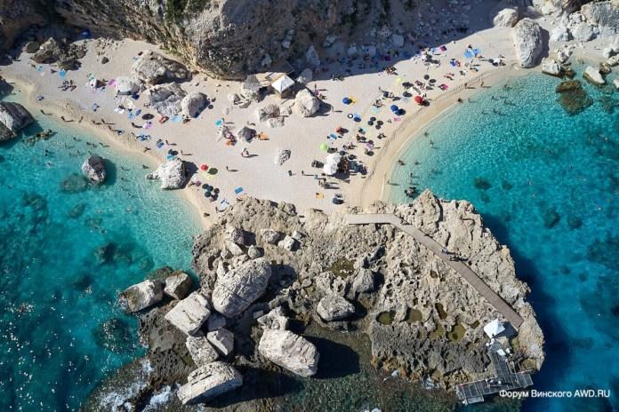 Пляж Cala Mariolu Орозеи Сардиния