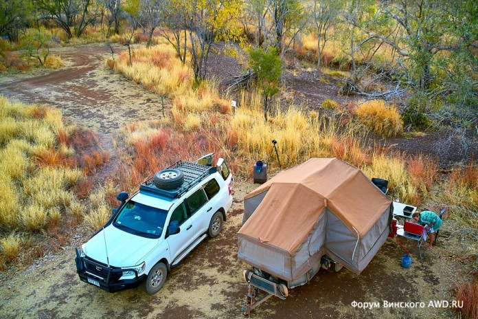 Кемпер Safari Camper Camprite 4wd отзывы