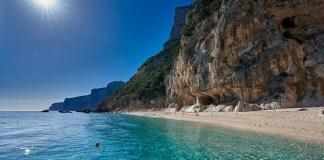 Пляжи залива Орозеи Cala Gabbiani