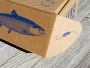 Упаковка рыболовства Ситка Сэмэн Шэас
